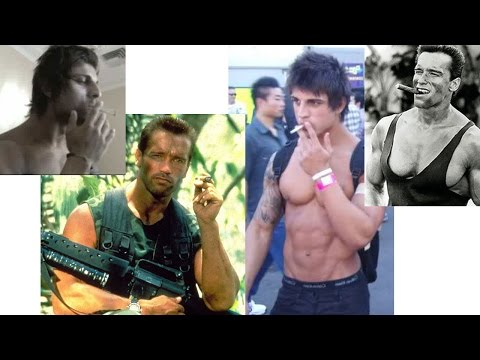Smoking, fitness, health, and bodybuilding