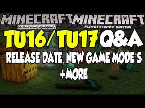 Minecraft [XBOX & PS3] Title Update16/17 (TU17) Q&A! - Release Date Talk, New Game Modes + More