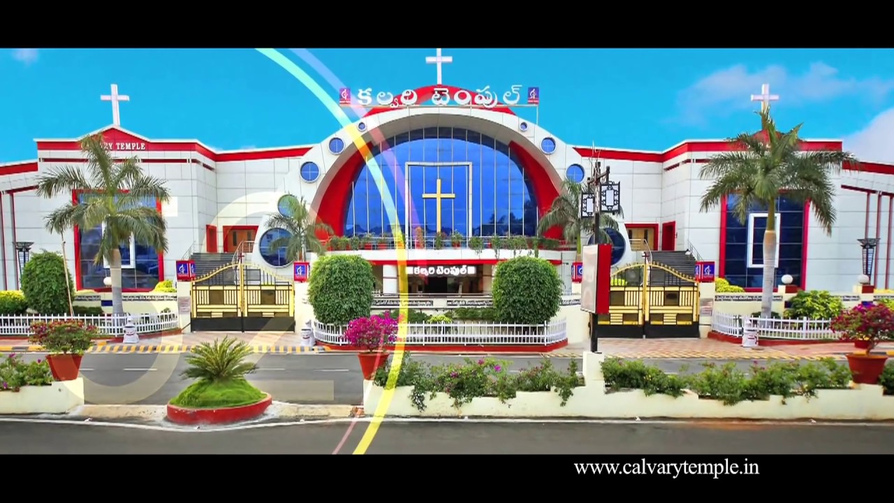 Calvary Temple Church....Largest Church in India