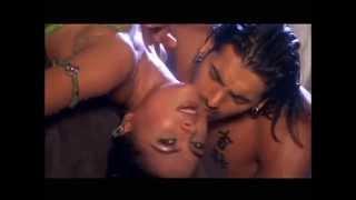 Lara Dutta Hot Boobs, Cleavage Touch and kiss