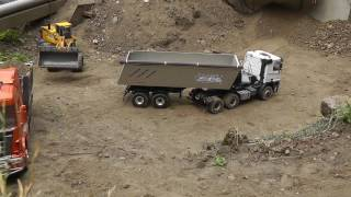 BIG CONSTRUCTION🔥  RC CONSTRUCKTION VEHICLES 🔥 AWESOME MACHINES! rc live action