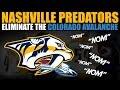 Nashville Predators Eliminate the Colorado Avalanche MP3