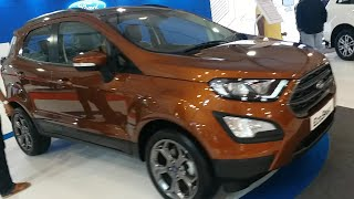 Ford Eco Sport 2019 Canyon Ridge Walkaround And Interior | Just Tube It | Autocar Performance Show