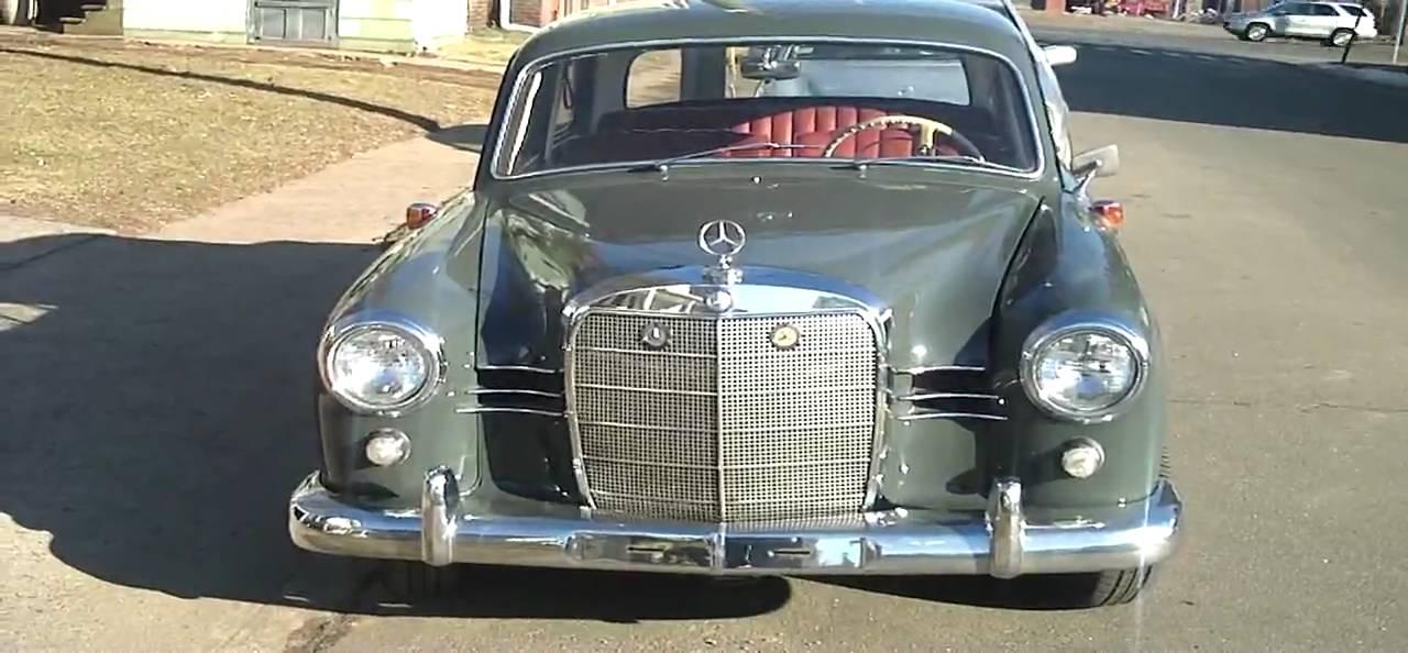 1960 Mercedes Benz 180d Youtube