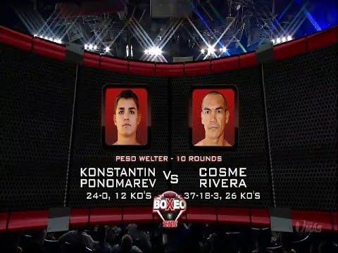 Best moments :: Iron Boy:: Konstantin Ponomarev vs Cosme Rivera :: Лучшие моменты