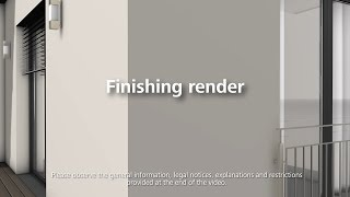 How to apply the finishing render / scratch render - Installation of thermal insulation