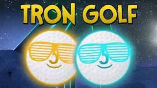 TRON GOLF!! - Tower Unite Mini Golf Funny Moments