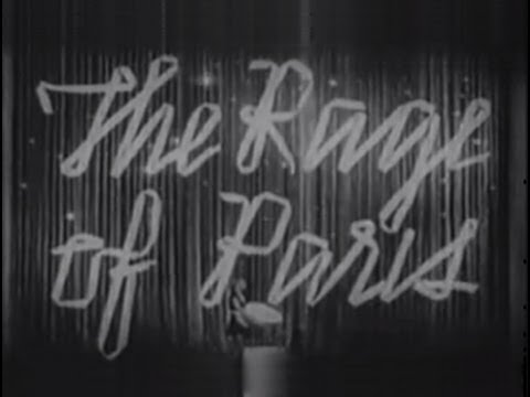 The Rage of Paris (1938) [Comedy]