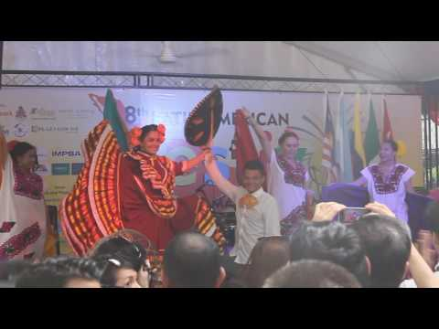 Mexican Dancing at the 8th Latin American Festival in Malaysia (Video 7 of 12)