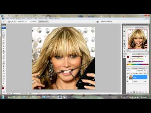 Tutorial Adobe Photoshop cs3- Aprende a usar herramienta