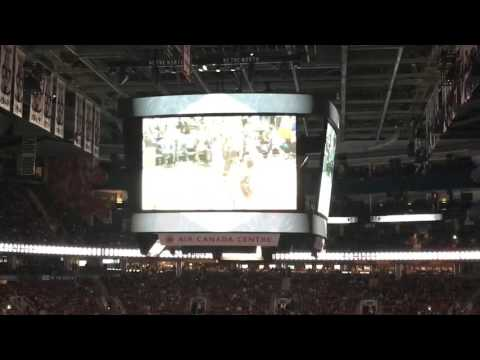 Toronto Raptors vs Los Angeles Clippers Intro