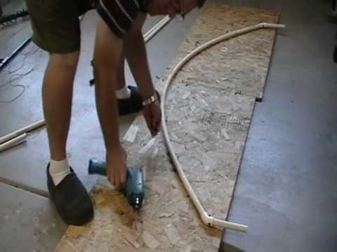 My Pvc Arches Bending The Pipe Youtube