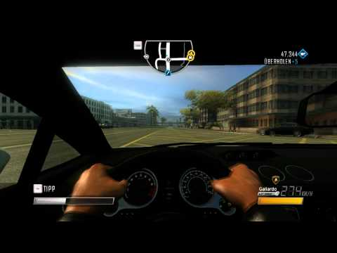 Driver San Francisco - Lamborghini Gallardo review [Full Hd 1080p].