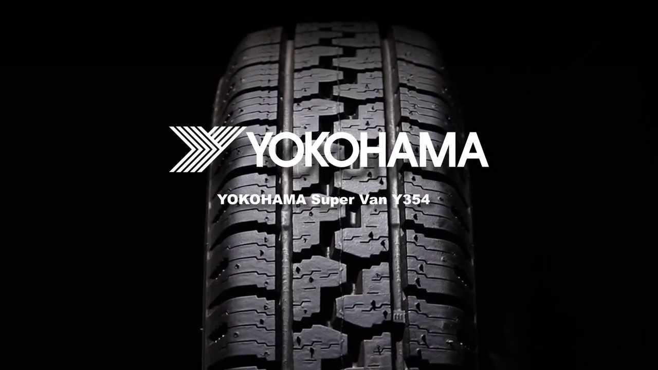 Шины YOKOHAMA Super Van Y354 - [Rezina.CC] (Всесезонная) - YouTube