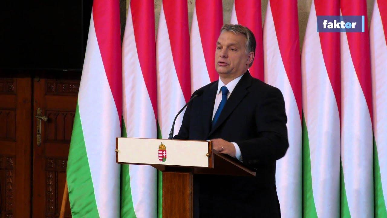 Orbán Viktor rendkívüli bejelentése a népszavazásról - videó!