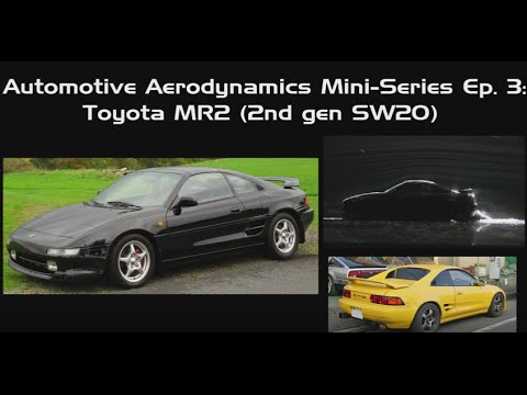 Automotive Aerodynamics Mini-Series Ep. 3: Toyota MR2 (SW20)