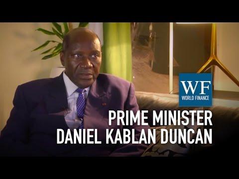 Prime Minister Daniel Kablan Duncan on the Ivory Coast economy | World Finance Videos