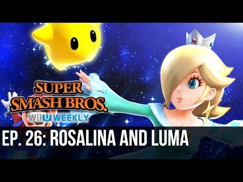Super Smash Bros. Wii U/3DS Weekly - Rosalina and Luma Announced
