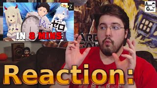 Re:Zero IN 8 MINUTES: #Reaction #AirierReacts