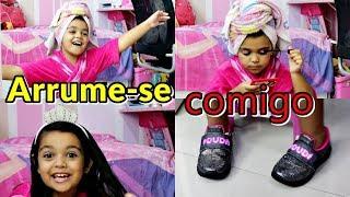 ARRUME-SE COMIGO PARA A FESTA DE 1 MILHÃO DA CAROL - EDUARDA FERRÃO