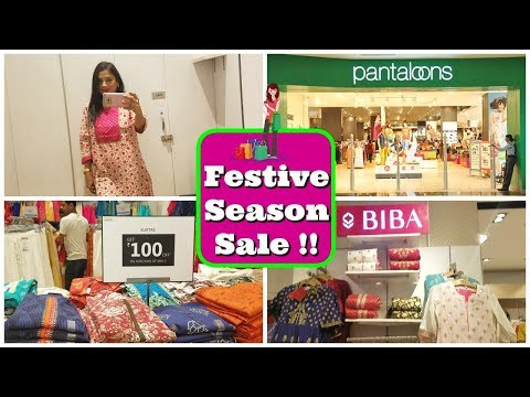 New Festival Sale : Pantaloons Shopping Haul 2018 | Indian Mom Studio