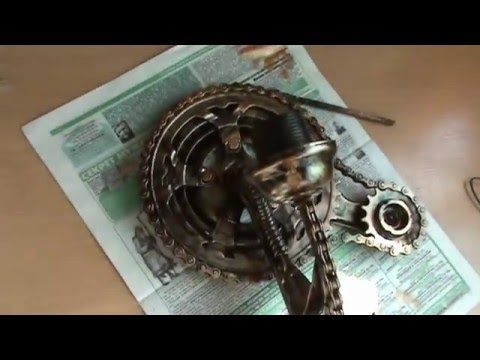 светильник в стиле стимпанк своими руками/lamp in the style of steampunk with your own hands