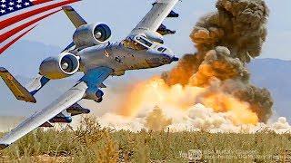 A-10の近接航空支援 (ガトリングガン・ペイブウェイ・JDAM)