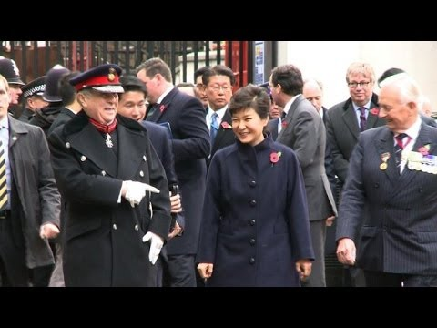 Britain welcomes South Korean president