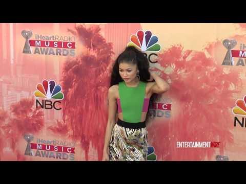 Zendaya Coleman arrives at 2015 iHeartRadio Music Awards Red carpet
