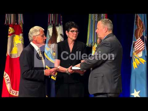 HAGEL DEPUTY SECY OF DEFENSE WELCOME CEREMONY