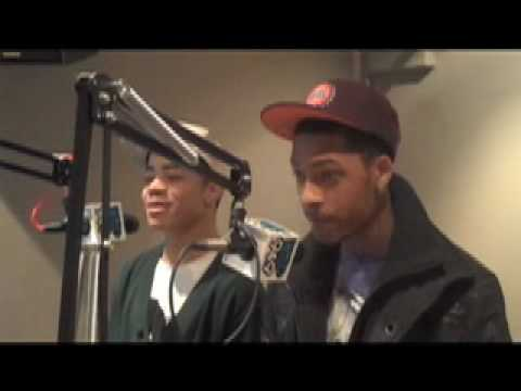 WILD 94.9 - NESSA INTERVIEWS THE NEW BOYZ 1/28/10