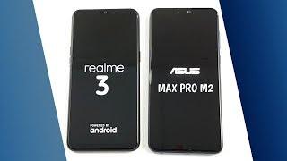 Realme 3 vs Asus Zenfone Max Pro M2 SpeedTest & Camera Comparison