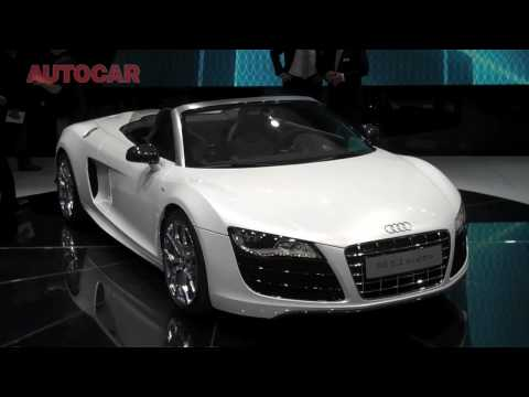 Audi R8 Spyder by autocar.co.uk