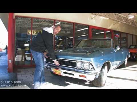 1966 Chevrolet Chevelle SS396 Convertible for sale with test drive, walk through video