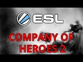Barton vs. Jesulin Decider - Incredible CoH2 game from ESL Final.