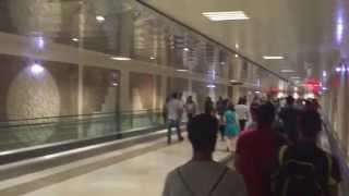 Баку подземный переход в метро Сахил 11.07.15 г