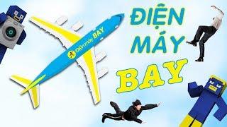 """QUẢNG CÁO MÁY GIẶT ĐIỆN MÁY """"BAY"""" - Minecraft Parody Animation - DJ TIO"""