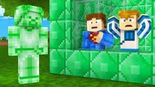 Minecraft: ZIELONY STEVE MNIE PRZEŚLADUJE!