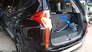 Fuel saver HHO Joko Energy on Mitsubishi All New Pajero Sport Dakar 2017