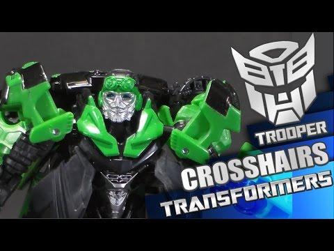 Age of Extinction DELUXE CROSSHAIRS - Reviews de Transformers de Trooper en español