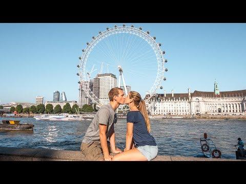 London Sehenswürdigkeiten • Tag 1 in London auf Weltreise | VLOG #364