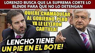 Gobierno de AMLO listo para detener a Lorenzo Córdova, INE busca que la Corte los pare