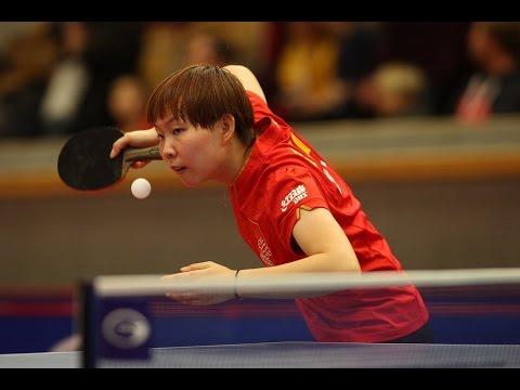 Swedish Open 2014 Highlights: Liu Shiwen Vs Zhu Yuling (FINAL)