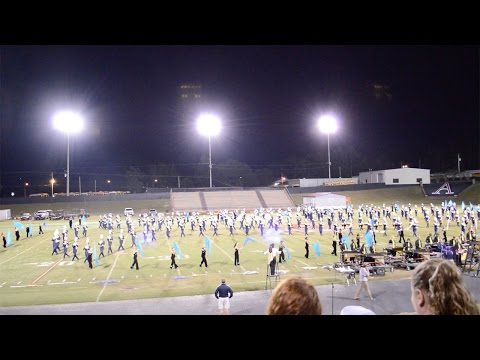 Foley High School Band 2014 Andalusia Competition