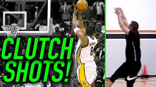 Recreating ICONIC NBA Playoff Shots!