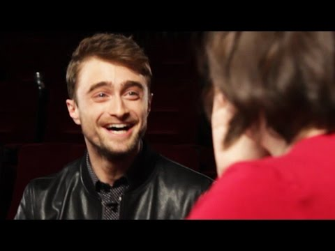 Daniel Radcliffe Surprises Fans At A Movie Theater