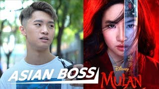 The Chinese React To Disney's Mulan Trailer | ASIAN BOSS