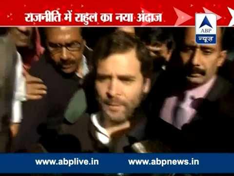 Rahul Gandhi leads Congress dharna against Modi govt's 'U-turns'