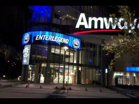 THE NEW AMWAY CENTER BASKETBALL ARENA FOR THE ORLANDO MAGIC