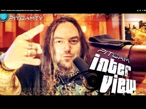 SOULFLY Interview w/ Max Cavalera @ With Full Force Festival // PitCam.TV